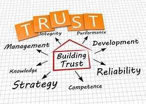 Justin's Web Design - Trust