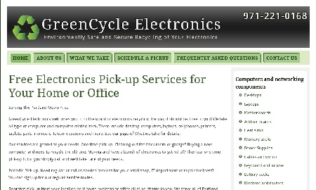green cycle electronics