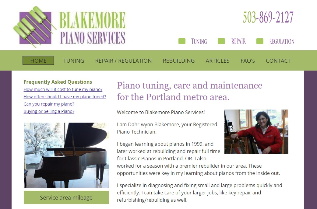 Blakemore Piano Services