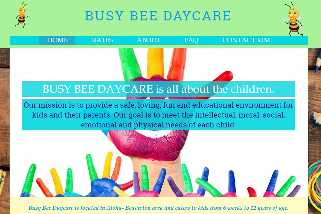 Busy Bee Daycare